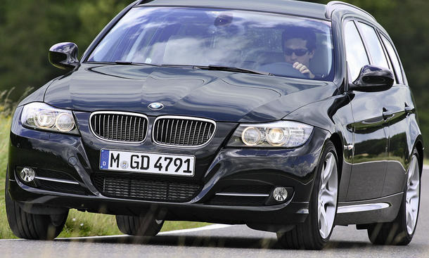 Bilder BMW 320d Touring Front