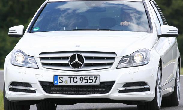 Bilder Mercedes C 220 CDI T-Modell Facelift