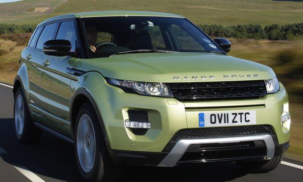 Bilder Range Rover Evoque SD4 Studie