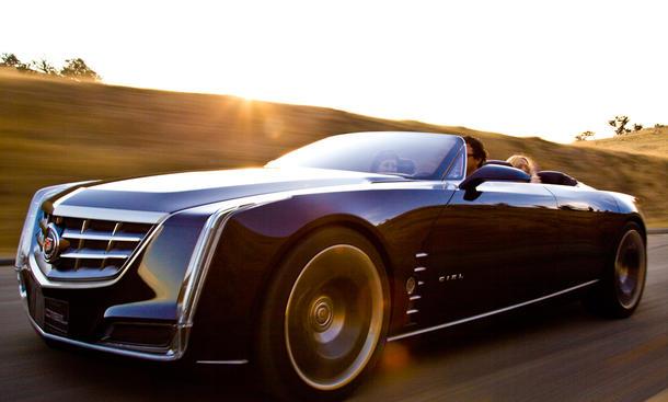 Cadillac Ciel Concept Pebble Beach 2011 Luxus-Cabrio