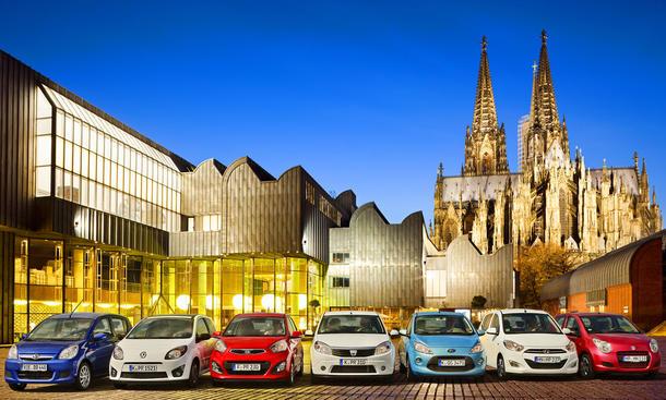 Kleinwagen: Sieben günstige Autos im Vergleichstest