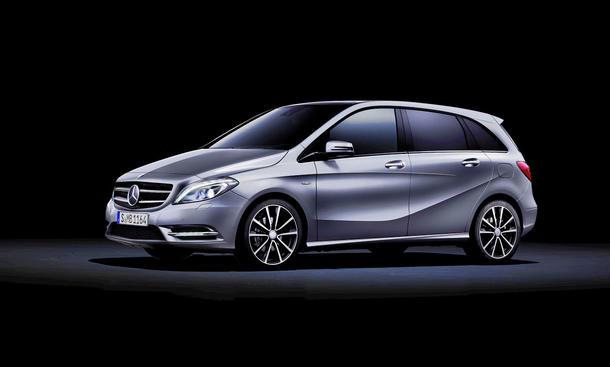 Neue Mercedes B-Klasse IAA 2011