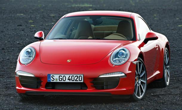 Bilder Porsche 911 Carrera IAA 2011