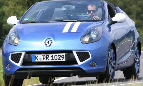 Renault Wind Gordini 1.6 16V 130 - Frontansicht