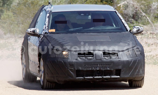Bilder VW Golf VII GTI Erlkönig 2011