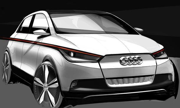 Audi A2 Concept IAA 2011