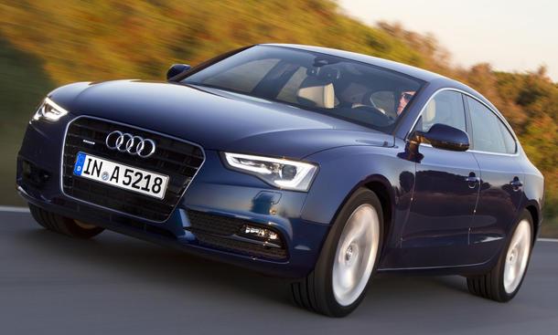 Bilder Audi A5 Sportback 1.8 TFSI Facelift