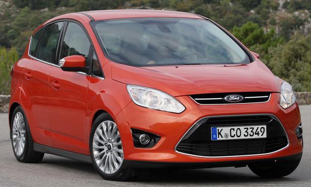 Bilder Ford C-Max 1.6 EcoBoost Titanium Front