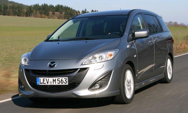 Bilder Mazda 5 1.6 CD Center-Line Front