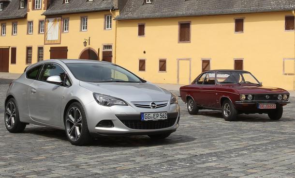 Bilder Opel Astra GTC Manta A
