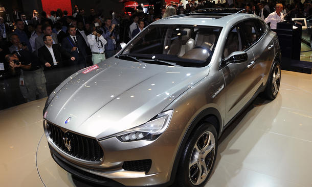 Maserati Kubang Studie SUV IAA 2011