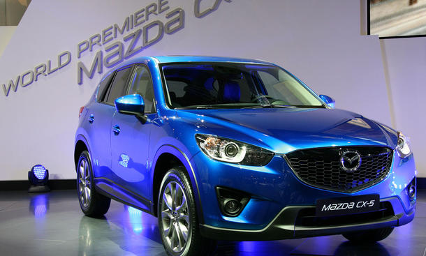 Bilder Mazda CX-5 IAA 2011