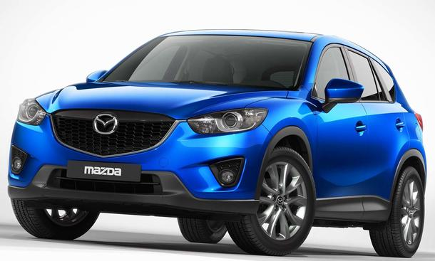 Neuer Mazda CX-5 Kompakt-SUV IAA 2011