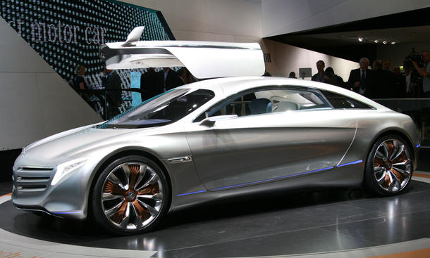 Bilder Mercedes Studie F125 IAA 2011