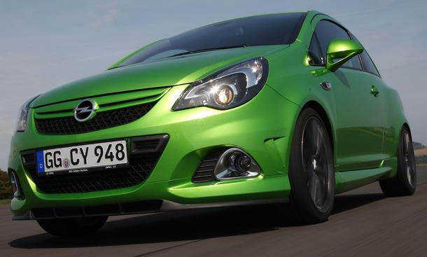 """Opel Corsa OPC """"Nürburgring Edition"""" - Rennstreckentauglichen Kleinwagen"""