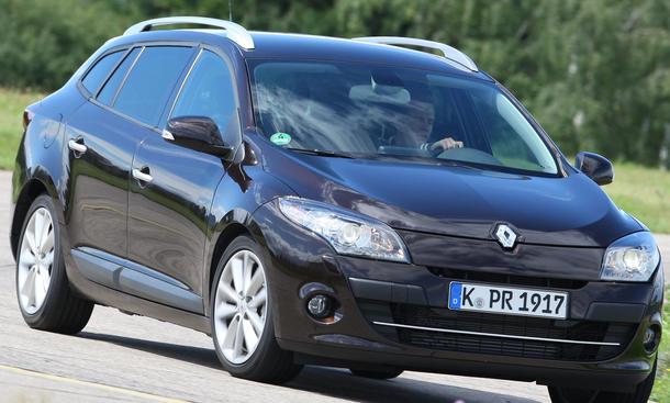 Renault Mégane Grandtour TCe130 schluckt viel Gepäck