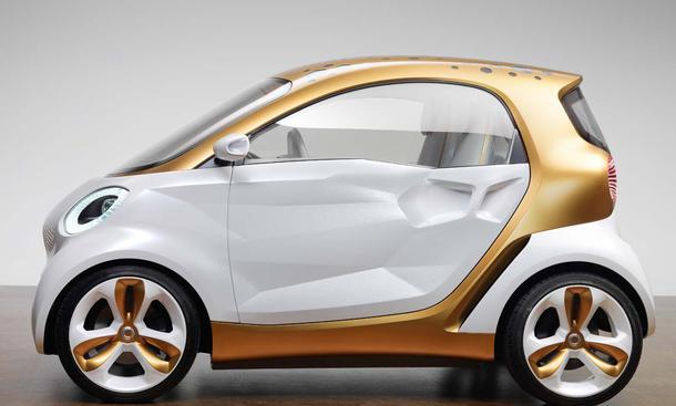 Smart Forvision: Studie mit Elektro-Motor