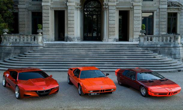 BMW M1 Hommage, M1 E26 und Turbo