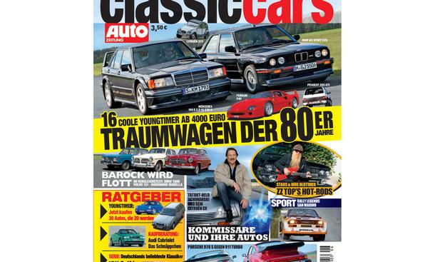 CLASSIC CARS AUTOZEITUNG 2011