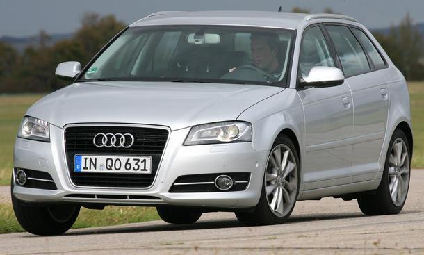 Audi A3 Sportback 1.8 TFSI - Front
