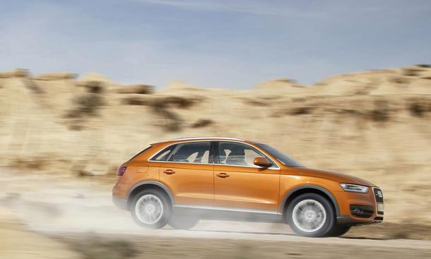 Audi Q3 2.0 TDI Quattro S-Tronic - Fahrspaß