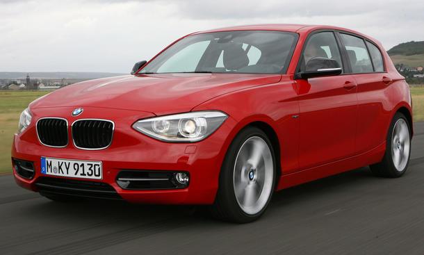 BMW 118i - BMW 1er im Vergleich
