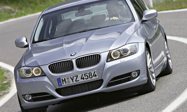 BMW 3er E90 Fahrverhalten