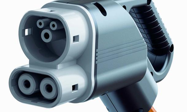 Combined Charging Einheits-Stecker Elektroauto