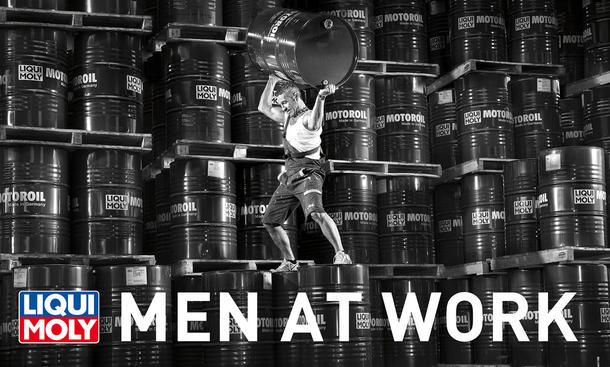 Men at Work 2012 - Deckblatt