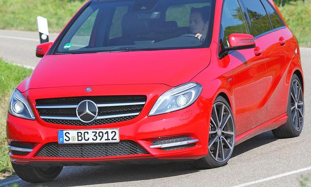 Mercedes B 180 BlueEFFICIENCY - Fahrdynamik
