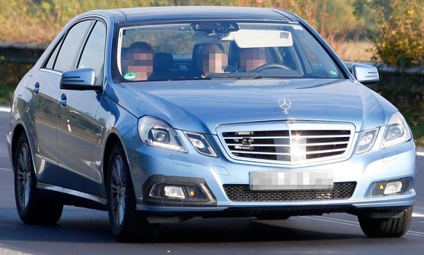 Mercedes E-Klasse Facelift Erlkönig