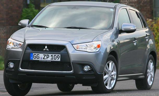 Bilder Mitsubishi ASX 1.6 MIVEC 2WD Fahrverhalten