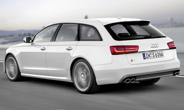 Neuer Audi 4.0 TFSI V8-Motor - Audi S6 Avant
