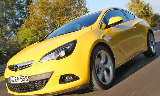 Opel Astra GTC 1.6 Turbo - Kompakter Coupé