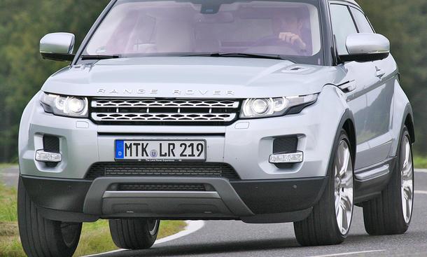 Range Rover Evoque Si4 Coupé - Grundpreis