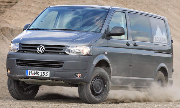 VW T5 Rockton Expedition - Rocktron von Seikel
