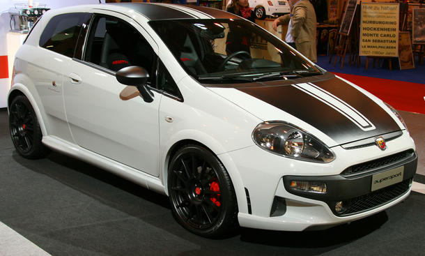 Abarth Punto SuperSport esseesse Essen Motor Show 2011
