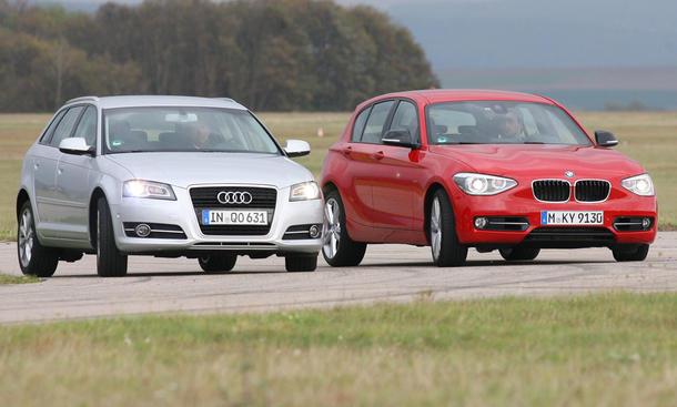 Audi A3 und BMW 118i - Kompaktklasse