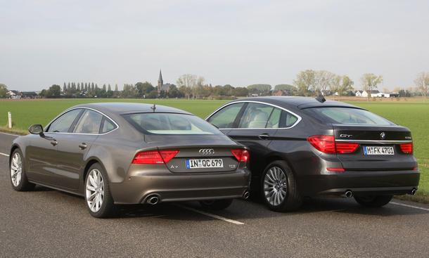 Audi A7 3.0 TFSI quattro - BMW 535i GT