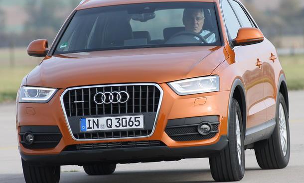 Bilder: Audi Q3 2.0 TDI Quattro S-tronic - autozeitung.de