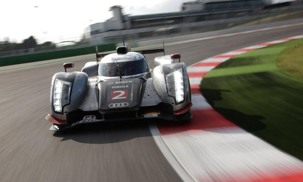 Audi R18 TDI im Tracktest