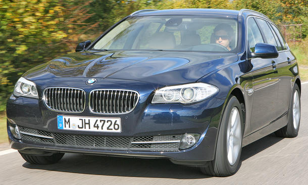 BMW 525d Touring - BMW-Vierzylinder