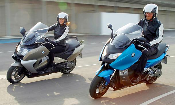 BMW C 650 GT C650 und C600 Sport C 600 Roller Motorroller 2012