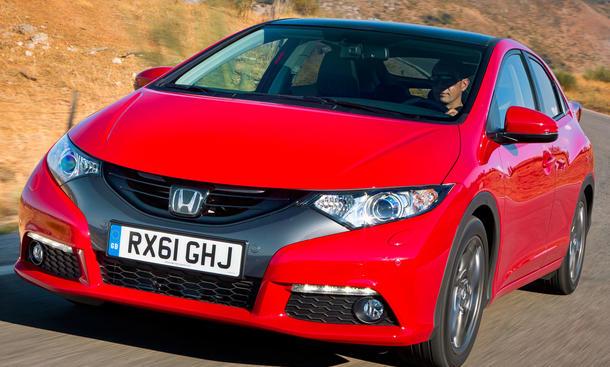 Bilder Honda Civic 2.2 i-DTEC Front