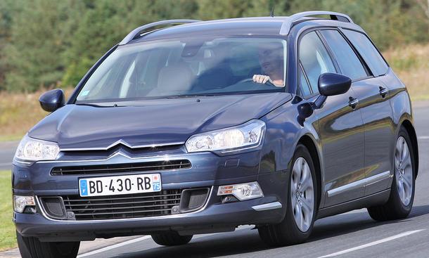 Citroën C5 Tourer HDi 140 FAP - Die Front