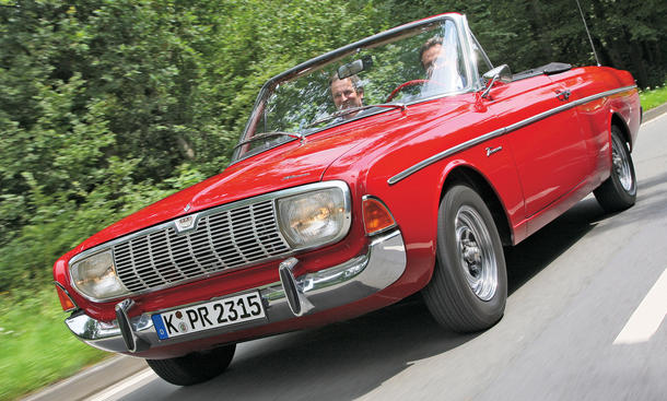 Ford 20 M TS Cabriolet - Karosserie