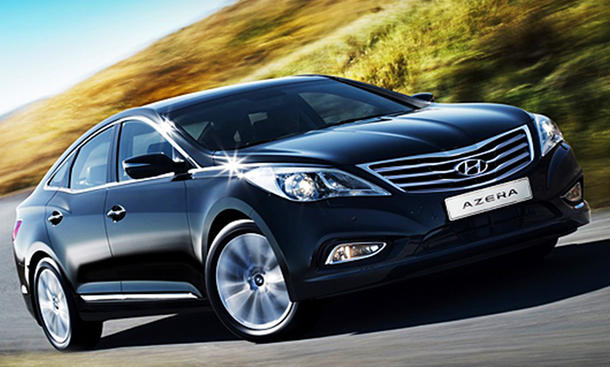 Hyundai Grandeur Nachfolger Azera Premiere Auf La Auto Show 2011