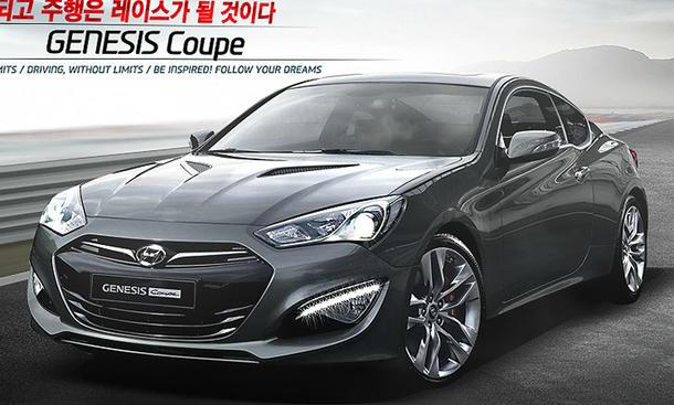 Hyundai Genesis Coupé Facelift 2012