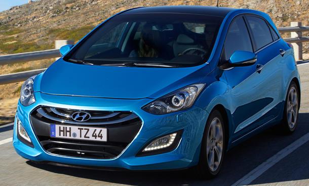Hyundai i30 2012 Motoren
