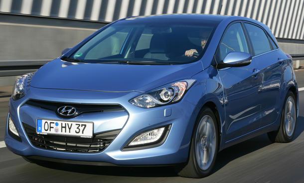 Hyundai i30 1.6 CRDi - Mitte März 2012